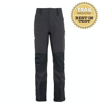 Fjell Trousers Men's, Carbon/Black