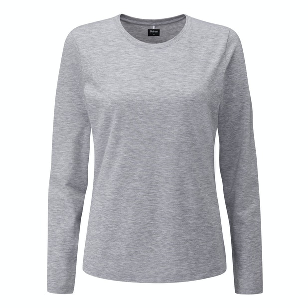 Essence T  - Technical, cotton-feel long-sleeved T.