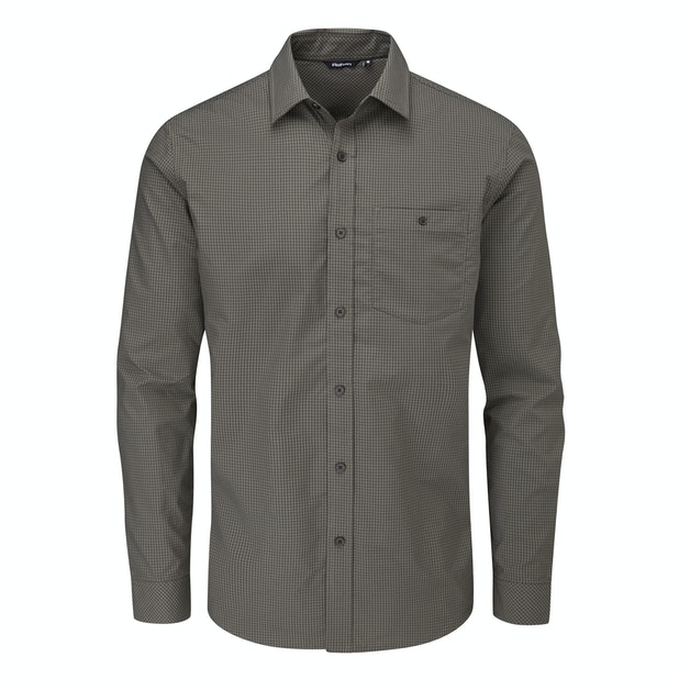 Newtown Long Sleeve Shirt - Smart, crease-resistant, quick-drying travel shirt.