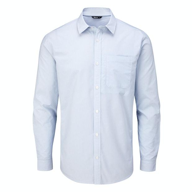 Newtown Long Sleeve Shirt - Smart, crease-resistant, quick-drying travel shirt.