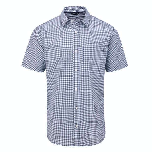 Newtown Short Sleeve Shirt  - Smart, crease-resistant, quick-drying travel shirt.