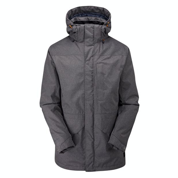 Outpost Jacket - Long parka-style jacket with Barricade™ system and Insuloft™.
