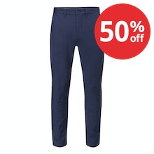 Smart, super stretchy chinos for work or travel.