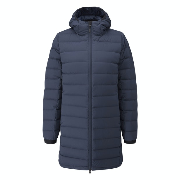 Downtown Jacket  - Technical down coat with urban style and excellent warmth.