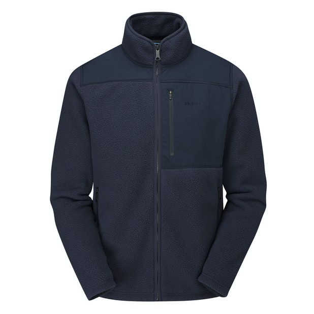 Alligin Jacket  - Very warm, high-pile fleece jacket with retro styling.