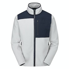 Very warm, high-pile fleece jacket with retro styling.
