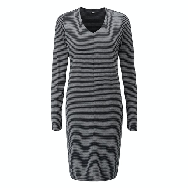 Merino Union 150 Dress  - Long-sleeved merino blend dress ideal for travel.