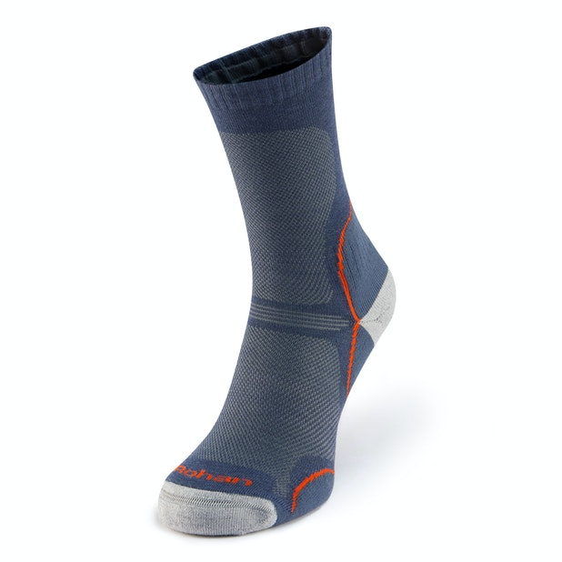 Explorer Socks  - Supportive, breathable socks for warm-weather trekking.