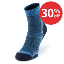 Supportive, breathable socks for warm-weather trekking.