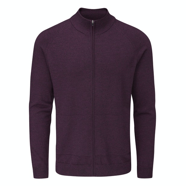 Merino Fusion Zip Jacket  - Versatile zip jacket made with Merino Fusion yarn.