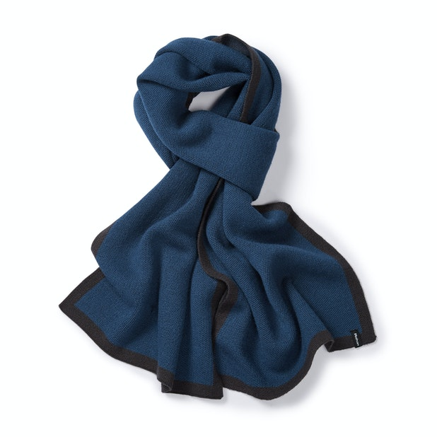 Faroe Scarf - Unisex merino-blend scarf for active outdoor use.