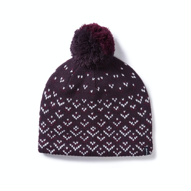 Isla Hat with Bobble - Stylish and warm winter knitted hat with bobble.