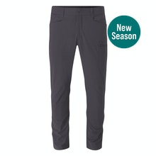 Men's walking trousers that are lightweight, high wicking and sun protective.