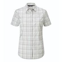 Soft, stretchy short-sleeved shirt for trekking and hillwalking.