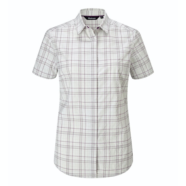Wayfarer Shirt - Soft, stretchy short-sleeved shirt for trekking and hillwalking.