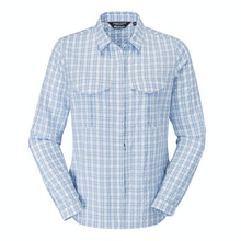 Chambray Blue Check