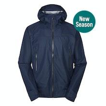 A men's rain jacket that's lightweight yet heavy duty, waterproof yet breathable.