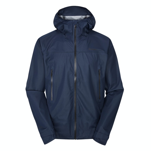Helix Jacket  - A men's rain jacket that's lightweight yet heavy duty, waterproof yet breathable.