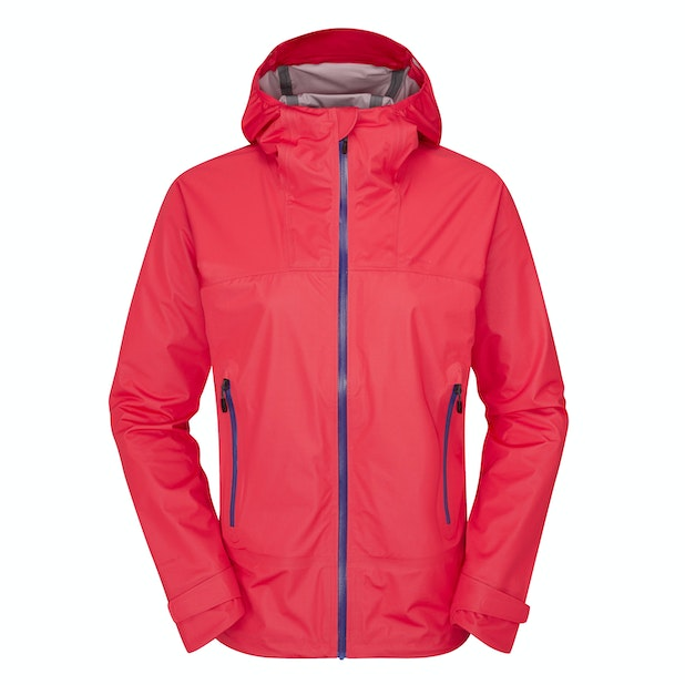 Helix Jacket  - A women's rain jacket that's ultra-waterproof while being breathable, lightweight and stretchy.