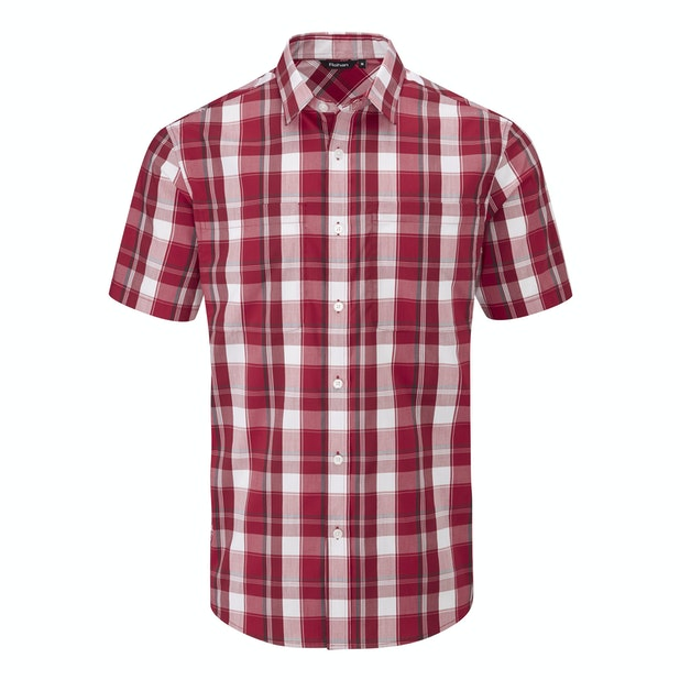 Crossover Shirt  - Versatile, short-sleeved summer shirt.