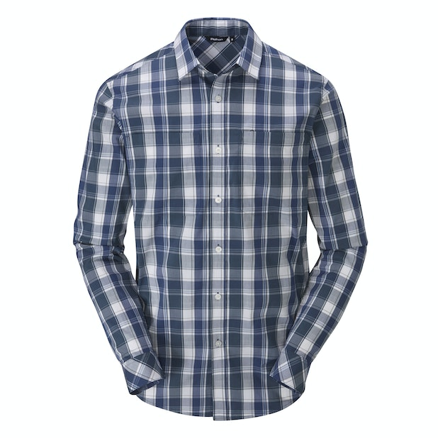 Crossover Shirt  - Versatile, long-sleeved summer shirt.