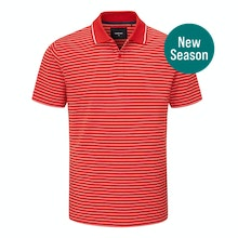 Stretchy, soft polo for casual everyday wear.