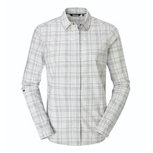 Soft, stretchy long-sleeved shirt for trekking and hillwalking.