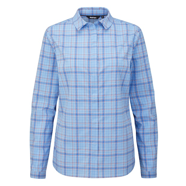 Wayfarer Shirt  - Soft, stretchy long-sleeved shirt for trekking and hillwalking.