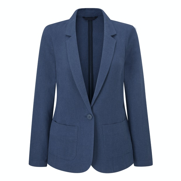 Malay Jacket  - Cool, lightweight and crease-resistant linen blend jacket.