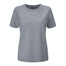 Cool, stretchy and comfortable linen blend T.