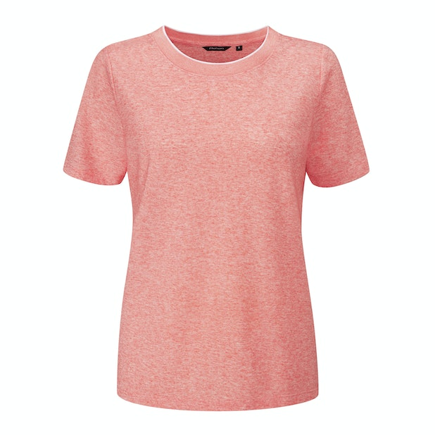 Malay T - Cool, stretchy and comfortable linen blend T.