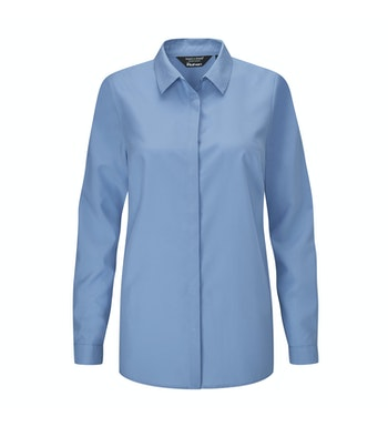Tian Shirt LS Women's, Chambray Blue