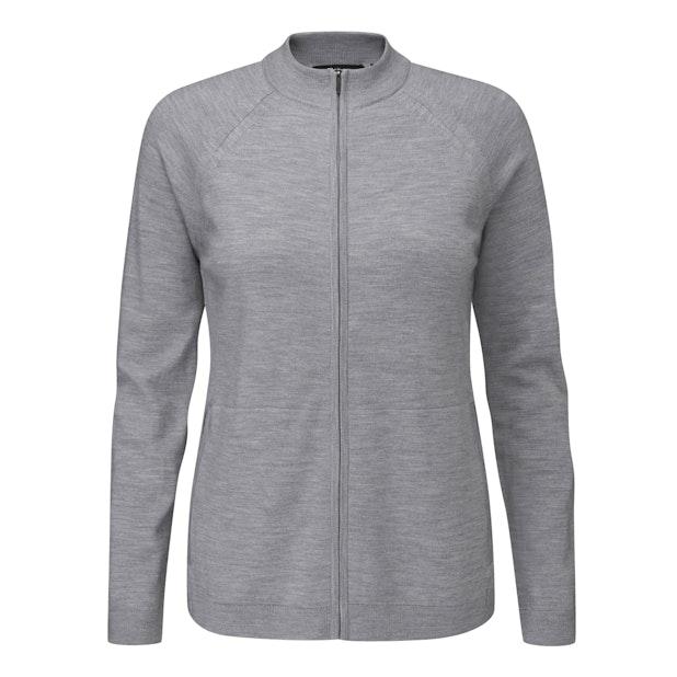 Merino Fusion Zip Jacket  - Versatile zip jacket made with Merino Fusion yarn.