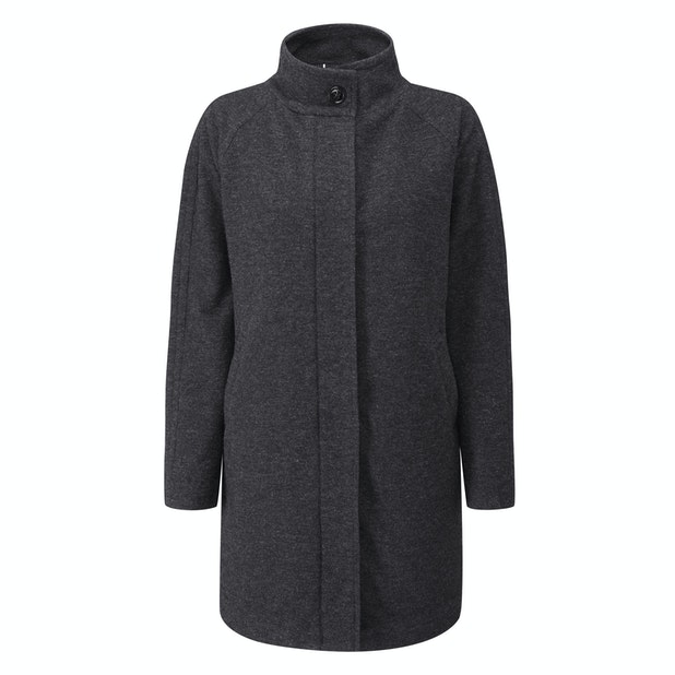 Portland Coat  - Smart, premium wool blend coat with Insuloft™.