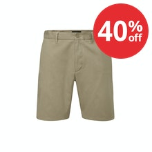 Classic chino style shorts with hidden technical features.