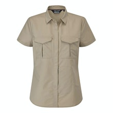 High-wicking expedition shirt with insect protection.