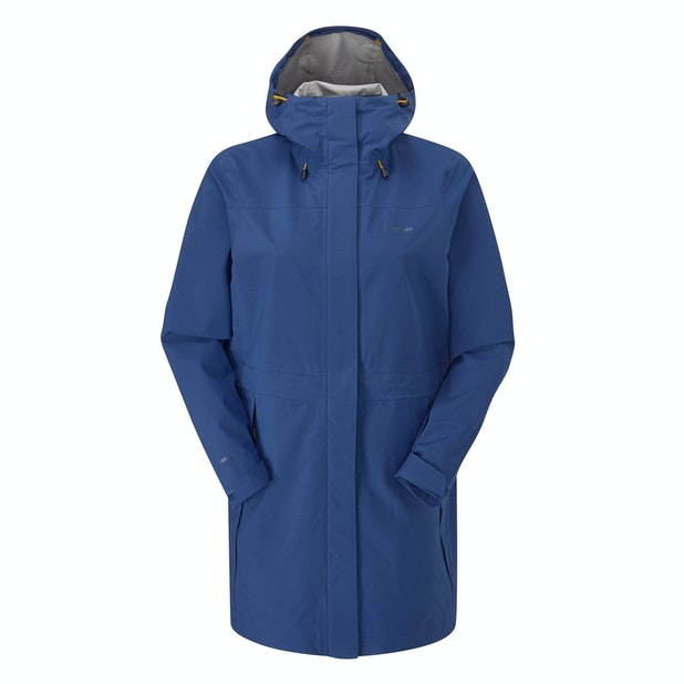 Ridge Jacket Long  - Versatile, longer-length, ultra high-wicking waterproof shell.