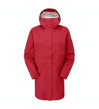 Ridge Jacket Long Women's, Maple Red
