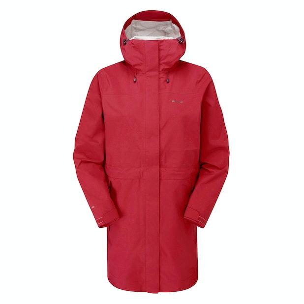 Ridge Jacket Long  - Versatile, longer-length, ultra high-wicking waterproof shell.