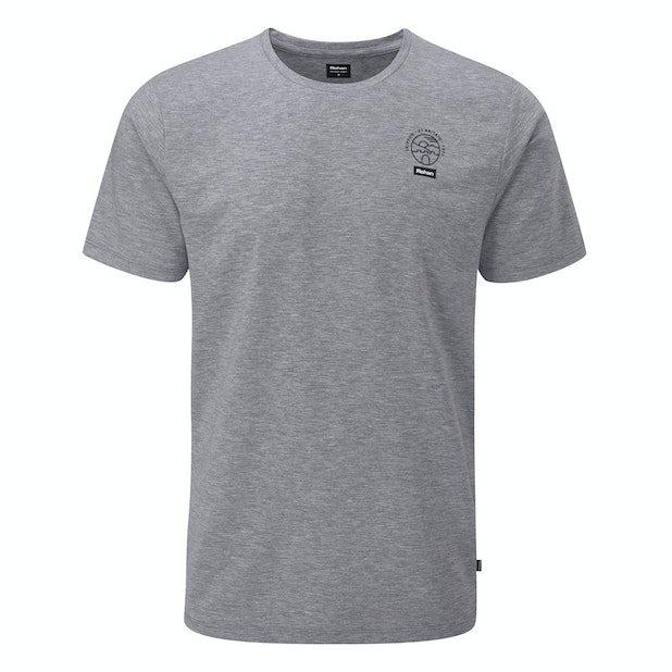Global Branded T - High-wicking, antimicrobial branded casual T or base layer.