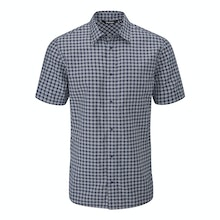 Deep Navy Check