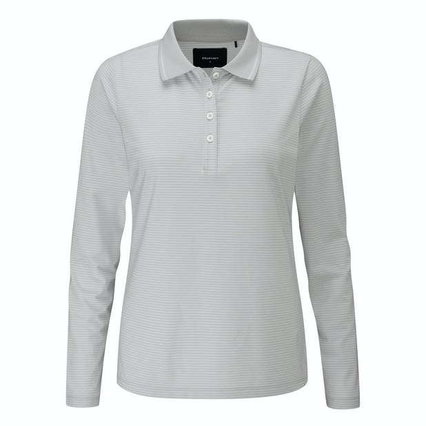 Shoreline Polo - Soft, stretchy long-sleeved polo for everyday wear.