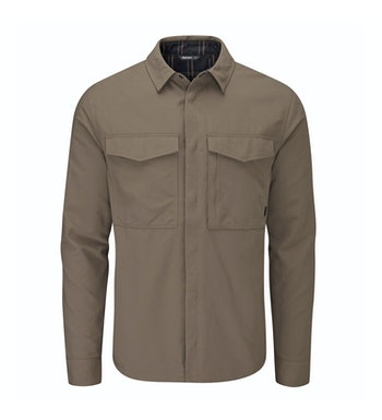 Tough, durable and warm overshirt for cold-weather travel.