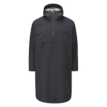 Waterproof, windproof and breathable unisex poncho with 2.5-layer Barricade technology.