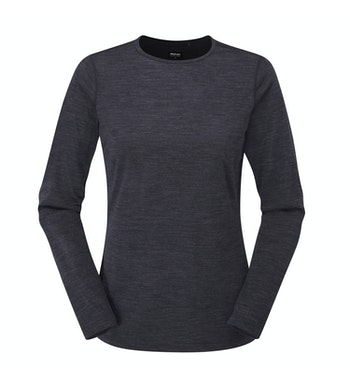 Durable and soft long sleeved crew - the ultimate winter layering piece.