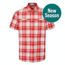 Durable, lightweight, cotton-feel short-sleeved shirt.