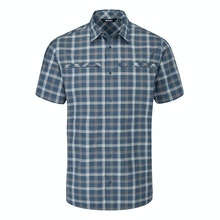 Durable, lightweight, cotton-feel short-sleeved shirt.