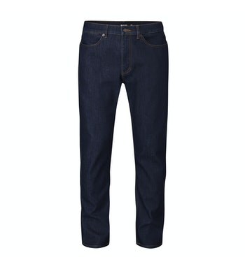 Packable, lightweight jeans offering year round comfort in changeable conditions.