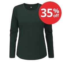 Soft, durable and versatile long sleeve top.