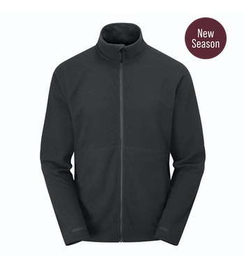 Stretch Microgrid Jacket Men's, Black